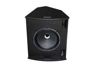 "300W Live Sound Speaker / 1.75""+12"" Black Stage Monitor With Clear Sound"
