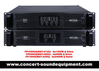 FP10000Q FP14000 Switch Mode Power Amplifier For Line Array Speaker / Subwoofer